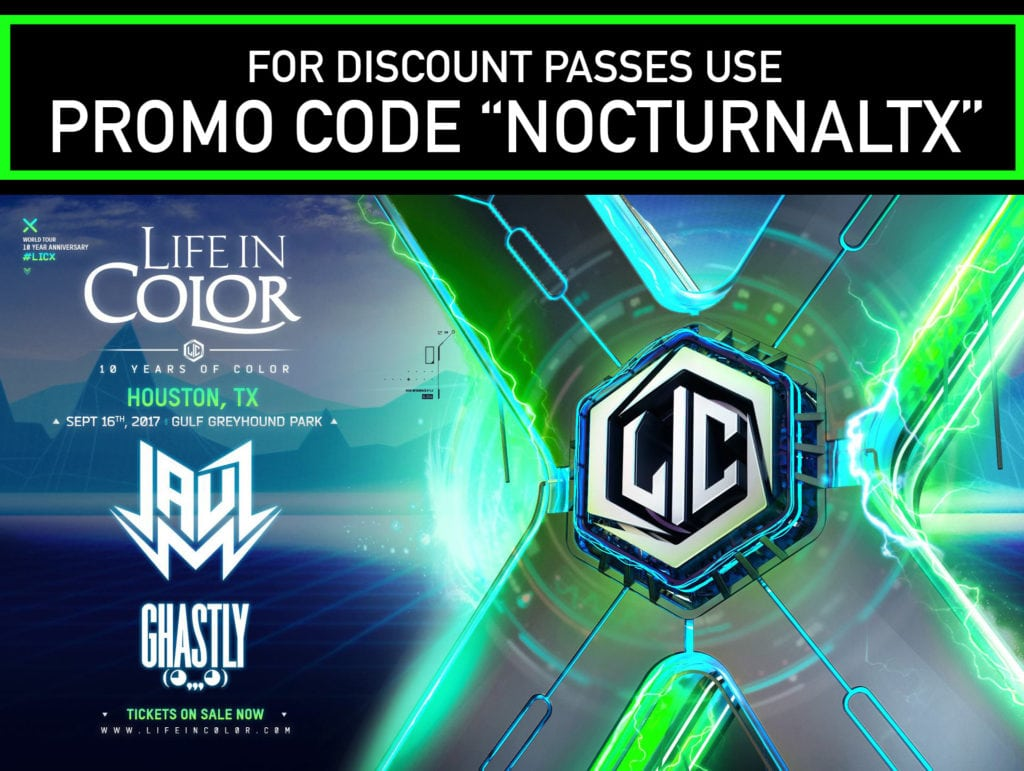 Life In Color 2017 Houston Tickets Discount Promo Code