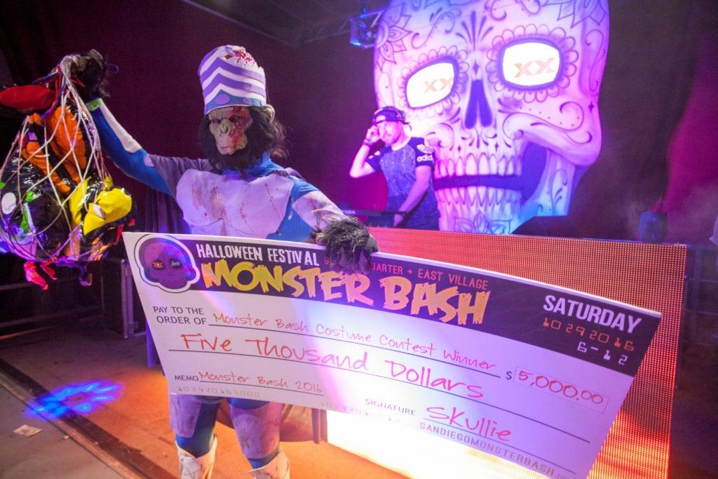Monster Bash 2016 Costume party winner
