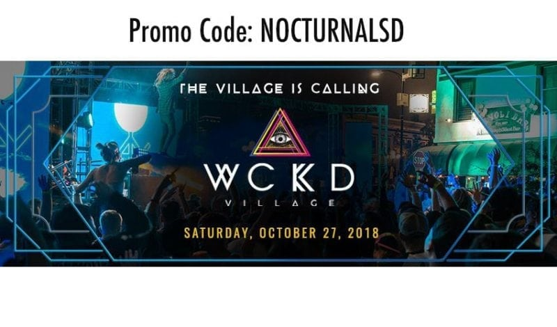 downtown halloween san diego gaslamp 2018 wckd monsterbash
