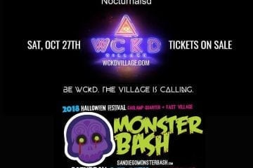 Monsterbash san diego halloween block party east village