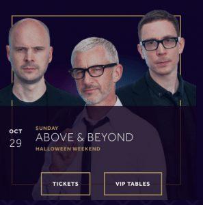 Above & Beyond Hakkasan Halloween 2017 Las Vegas