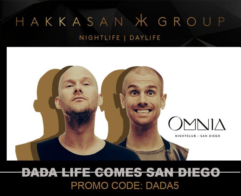 DADA Life Omnia Labor Day 2017 Tickets Discount Promo Code San Diego