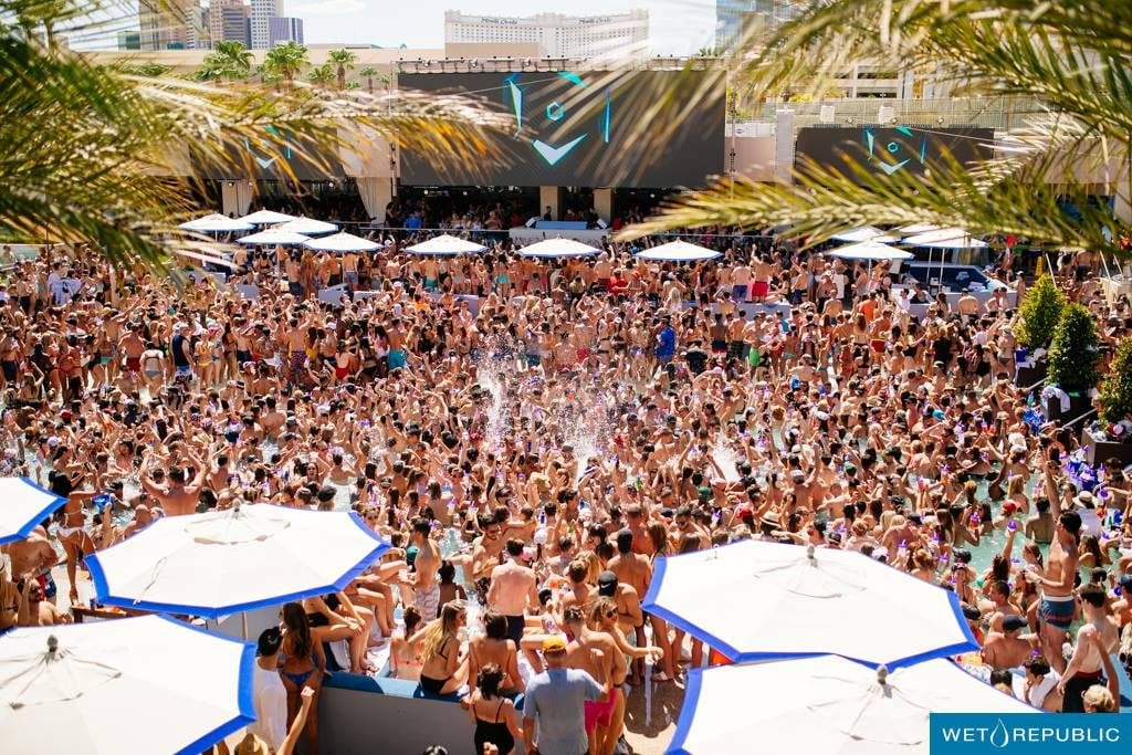 Discount Tickets Wet Republic Pool Party Las Vegas