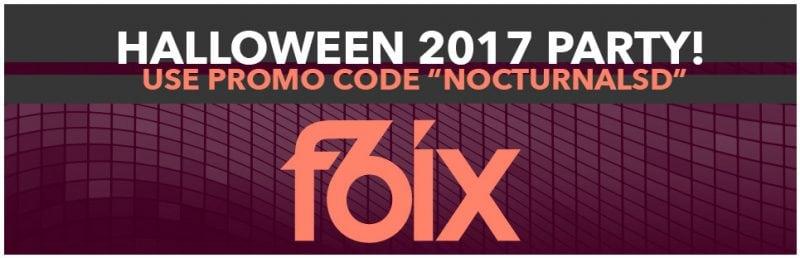 F6IX Gaslamp Halloween Party San Diego Discount Tickets Promo Code 2017 club vip bottle service