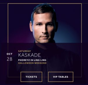 Kaskade Hakkasan Halloween 2017 Las Vegas