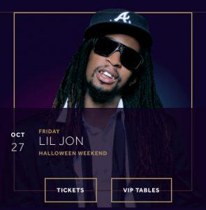 Lil Jon Hakkasan Halloween 2017 Las Vegas