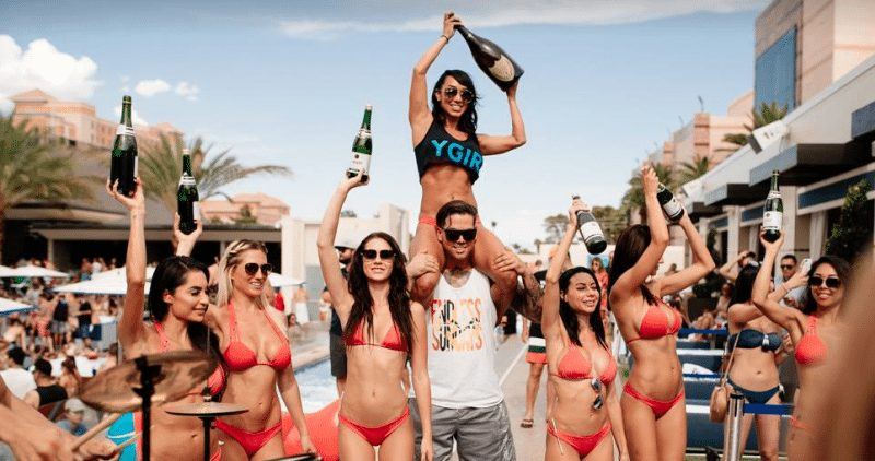 MGM Pool Party Vegas