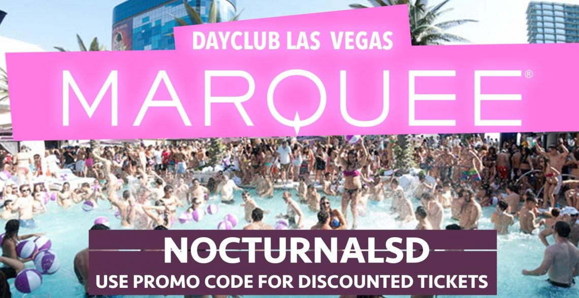 Marquee Dayclub Pool Party Las Vegas Discount Promo Code 2017