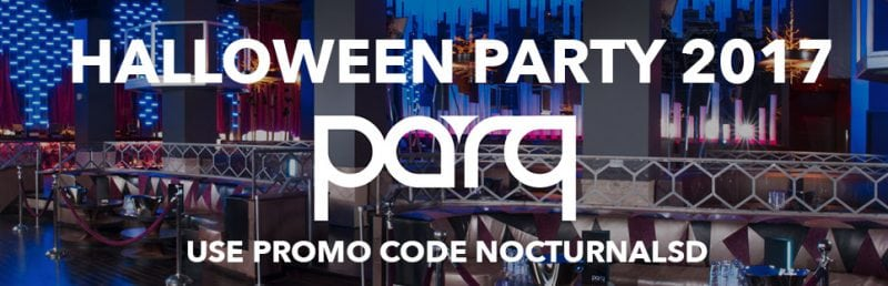 Parq Gaslamp Halloween Party San Diego Discount Ticket Promo Code 2017