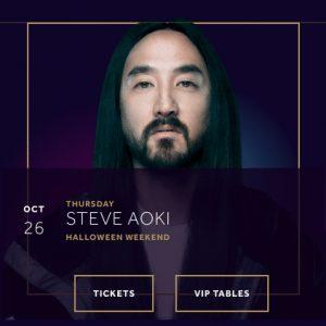 Steve Aoki Hakkasan Halloween 2017 Las Vegas