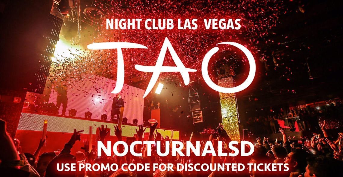 TAO Night Club Las Vegas Discount Tickets Promo Code 2017