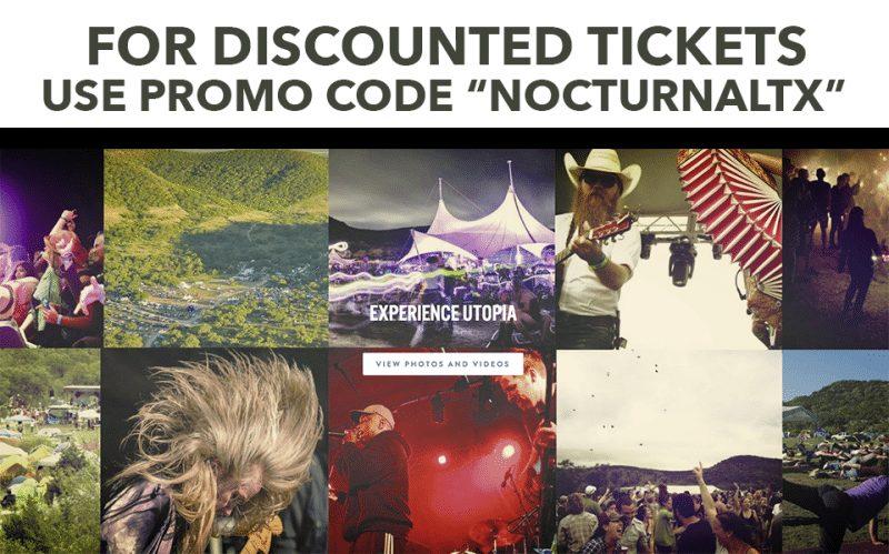 UTOPiAfest 2017 Promo Code Discount Tickets Utopia Texas