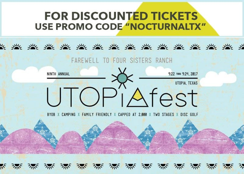 utopiafest 2017 promo code discount tickets utopia texas. Black Bedroom Furniture Sets. Home Design Ideas