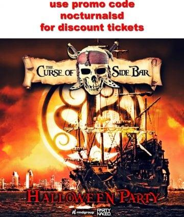 sidebar san diego halloween 2017 tickets discount promo code guest list vip bottle table