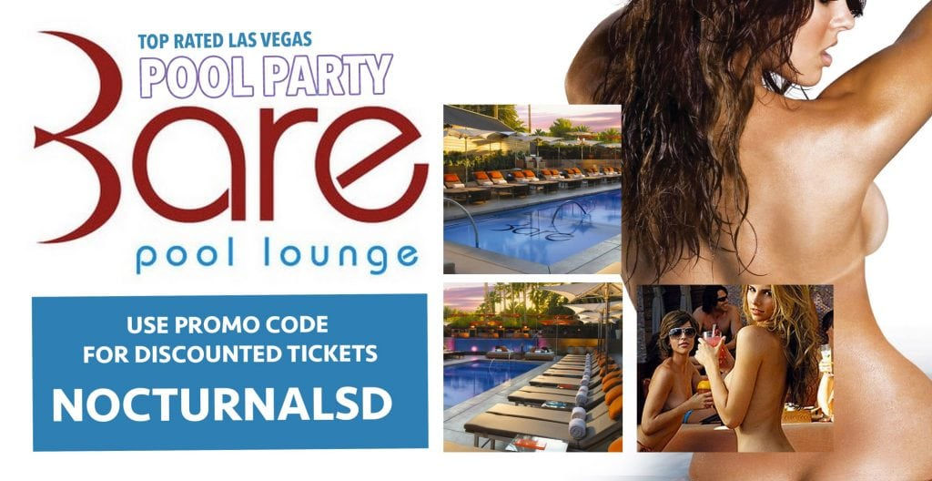 Bare Pool Lounge Pool Party Las Vegas Ticket Promo Code 2017