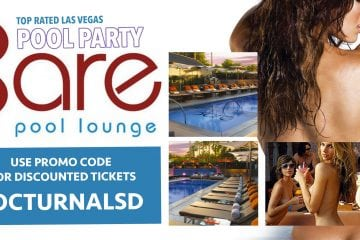 Bare Pool Lounge Pool Party Las Vegas Ticket Promo Code 2017