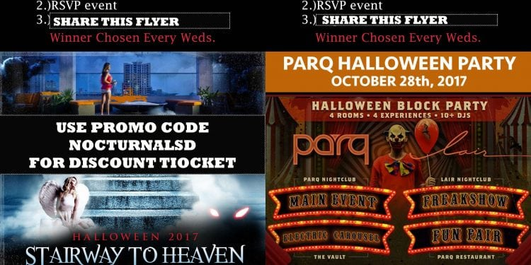Andaz Parq Halloween 2017 san diego discount promo code coupon free tickets guest list costume party