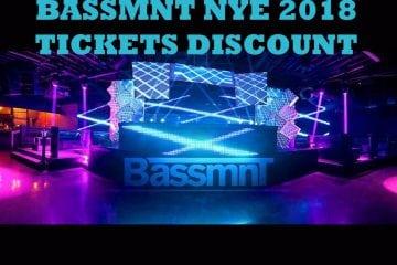 BASSMNT NYE 2018 DISCOUNT TICKETS PROMO CODE San Diego vip guest list new year even gaslamp night club bar