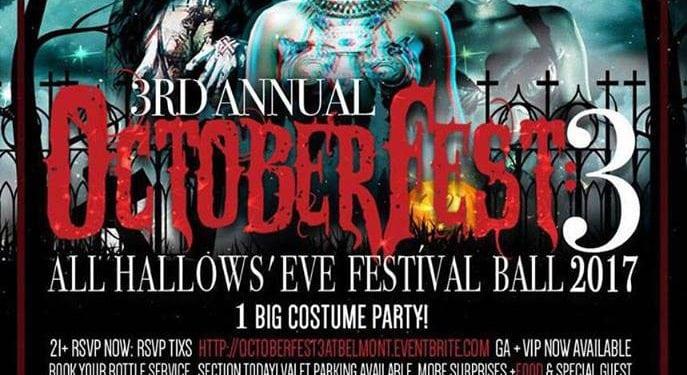 Belmont October Fest 3 Halloween DISCOUNT TICKETS PROMO CODE vip atx costume party