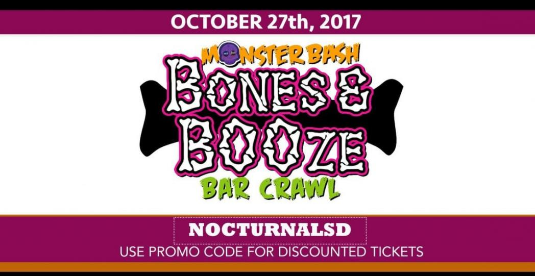 Bones and booze barcrawl 2017 discount promo code tickets san diego m4hsunfo