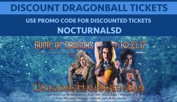 Dragon Halloween Ball Dallas DISCOUNT PROMO CODE 2017 event
