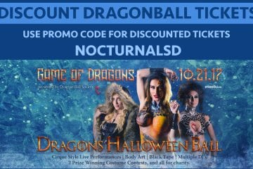 Dragons Halloween Ball 2017 TICKETS DISCOUNT PROMO CODE DALLAS stereo live fashion top best halloween party events