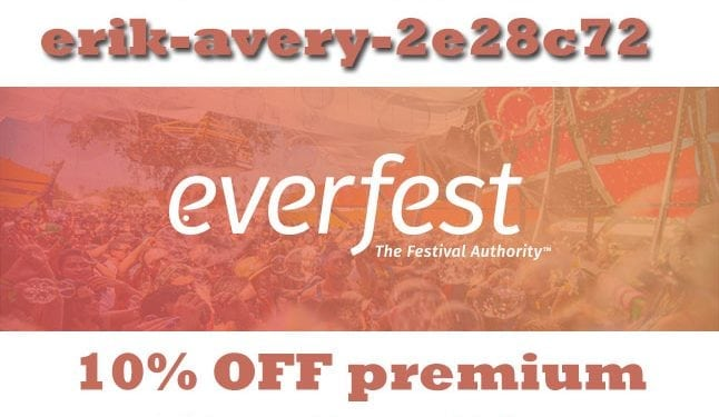 EverFest Membership Discount Promo Code Premium Festival coupons