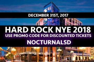 Looking for the best new years eve parties in san diego this 2018, check out our event in the gaslamp Hard Rock NYE 2018 San Diego Tickets Discount Promo Code event.