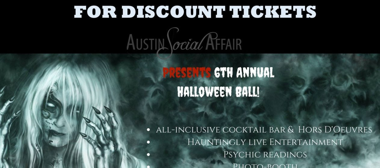 IronWood Hallow Halloween 2017 Discount Promo Code Tickets Austin Social Affair