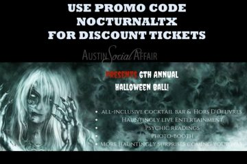 IronWood Hallow Halloween 2017 Discount Promo Code Tickets Austin Social Affair
