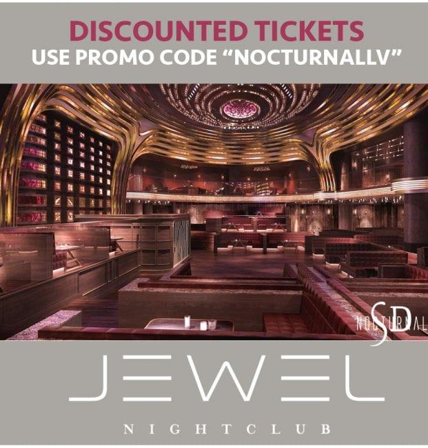 JEWEL Nightclub Las Vegas Tickets Discount Promo Code Aria artist dj party bottle service dance electronic