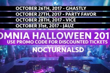 Omnia Halloween Party 2017 Discount Promo Codes San Diego