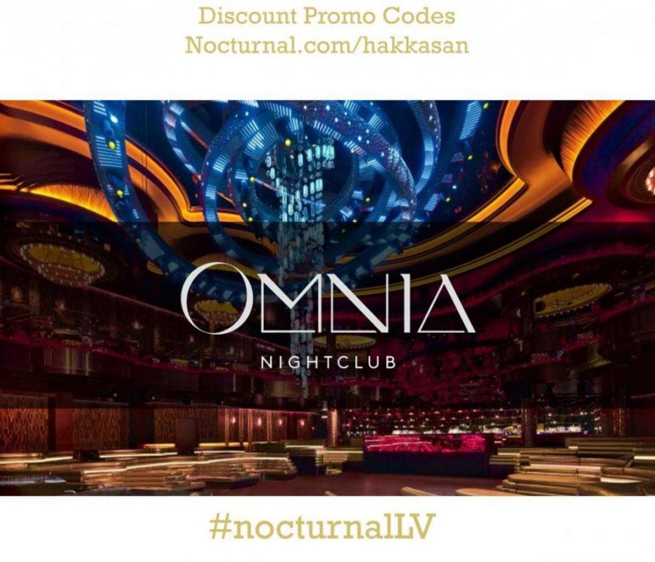 Omnia Las Vegas Nightclub Promo Code Discount Tickets lineup dj backstage vip table dance floor