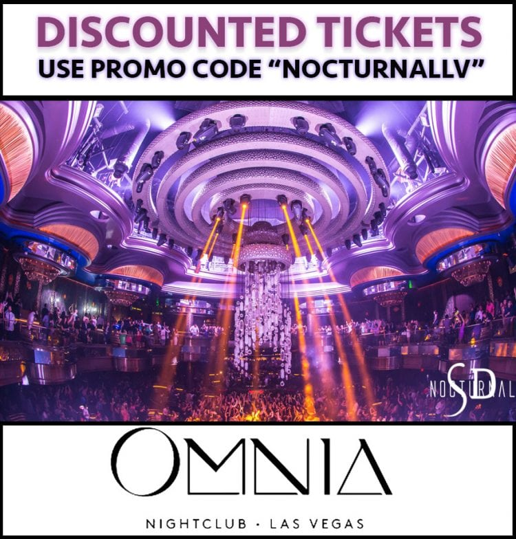 Omnia Nightclub Las Vegas Tickets Discount Promo Code Caesars Palace