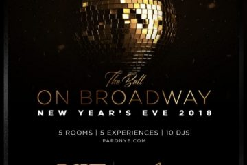 Parq NYE 2018 the ball on broadway discount promotional code coupon vip guest list tickets, bottles, tables, package, fast pass, new years eve