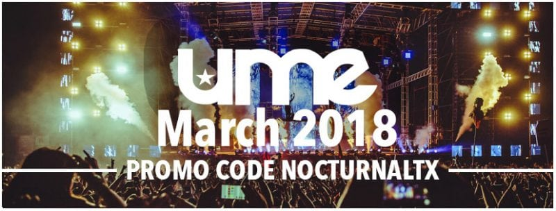 Ume 2018 Tickets Discount Promo Code South Padre Ultimate Music Experience