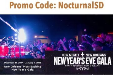 Big Night NYE New Orleans 2018 Discount Promo Code Tickets Gala