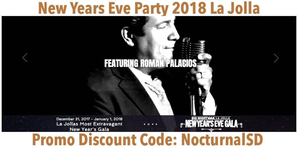 Big Night New Years Eve Gala 2018 Discount Promo Code Tickets La Jolla