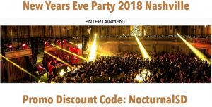 Big Night New Years Eve Gala 2018 Discount Promo Code Tickets Nashville