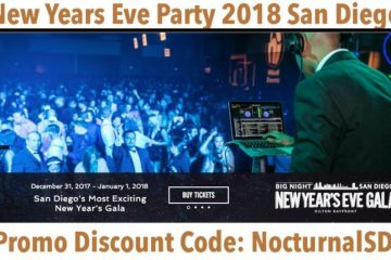 Big Night New Years Gala 2018 Discount Promo Code Tickets San Diego