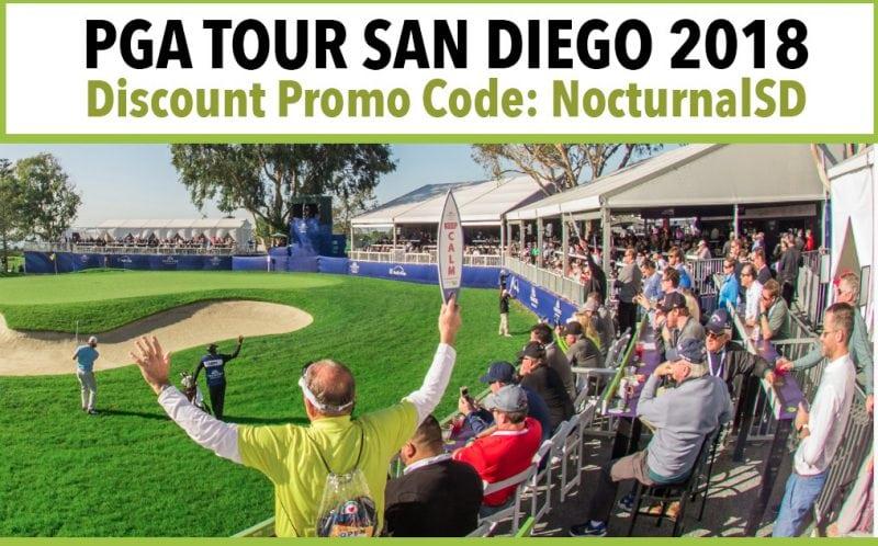 Farmers Open 2018 Discount Promo Code PGA TOUR Torrey Pines San Diego
