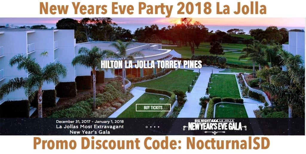 La Jolla New Years Eve Event Directions
