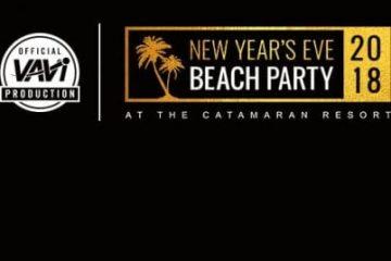 NYE Beach Party 2018 Catamaran Discount Promo Code Tickets San Diego vavi sports mission beach pacific beach new years eve vip cruise boat bar club