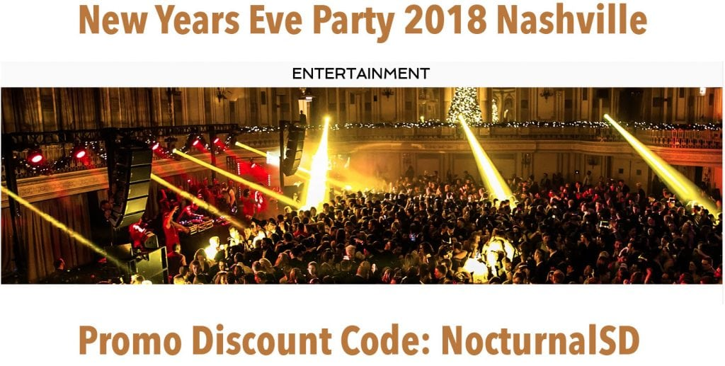 New Years Eve Discount Promo Tickets Nashville