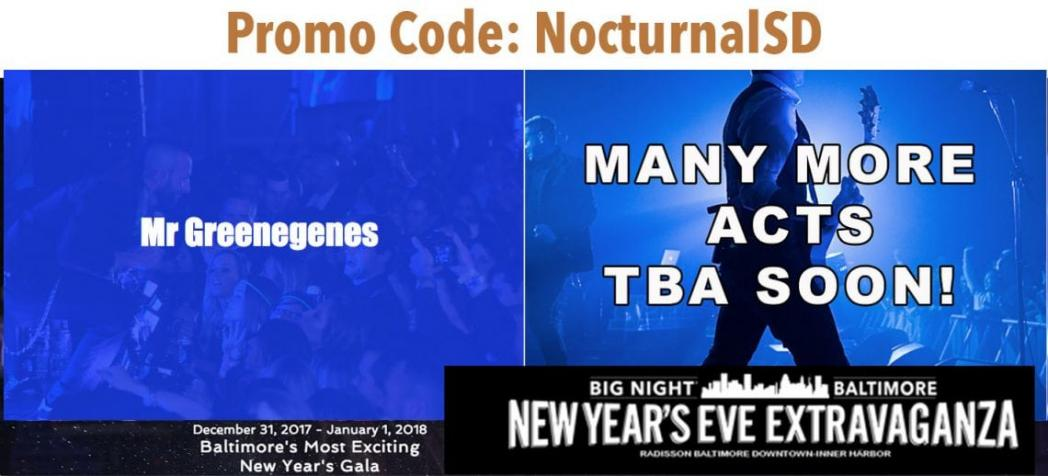 New Years Eve Extravaganza 2018 Discount Promo Code Tickets Baltimore