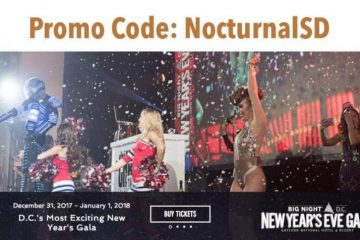 New Years Eve Gala 2018 Discount Promo Code Tickets Washington DC