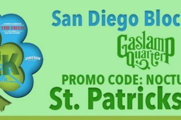 San Diego Shamrock St Patricks Day Party Gaslamp Discount Ticket Promo Code