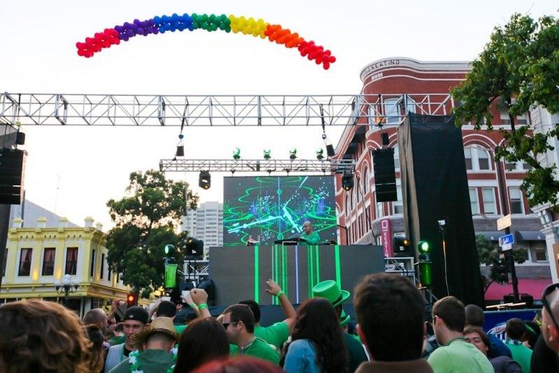 St Patricks Day Gaslamp Quarter Events