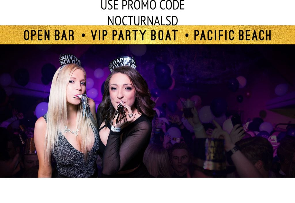 The nye beach party catamaran tickets discount promotional code coupon vavi san diego 2018 best top rated place to watch the ball drop pacific beach vip cruise casino