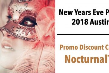 UnMasked New Years Masquerade Ball 2018 Discount Promo Tickets Austin